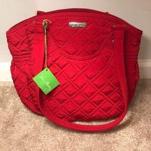 Vera Bradley Bags - NEW! 🔥 Vera Bradley Glenna Tango Red Purse